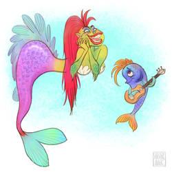 Mermaid by shishirnaik