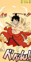 One Piece Ch 916 - Luffy by 0HebiHime0