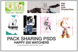 [STOPED] PACK SHARING PSDS - HAPPY 200 WATCHERS by justblackssi