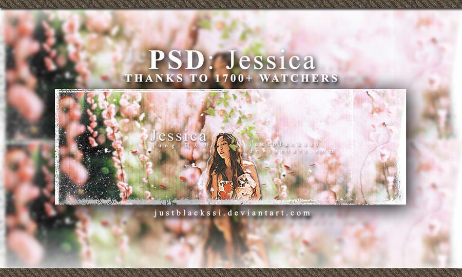 [PSD] JESSICA'S ART - HAPPY 1700+ by justblackssi