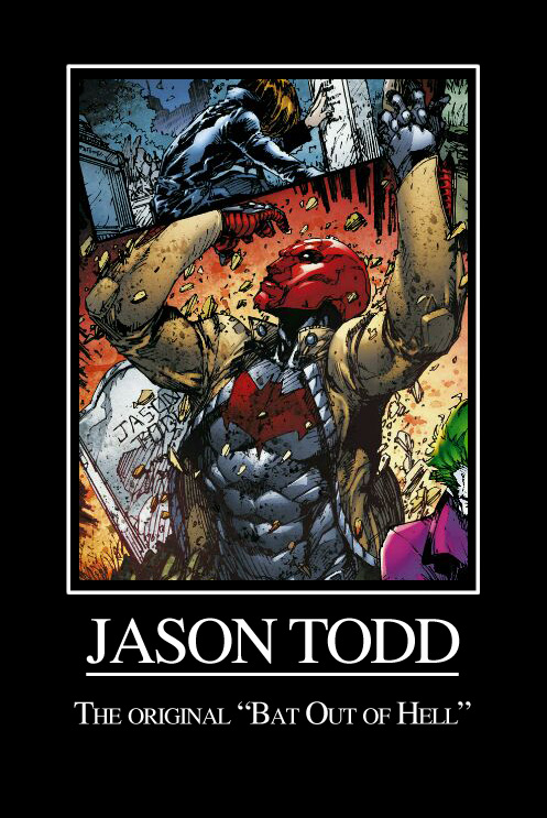 Jason Todd: Bat Out of Hell by ElvenWhiteMage