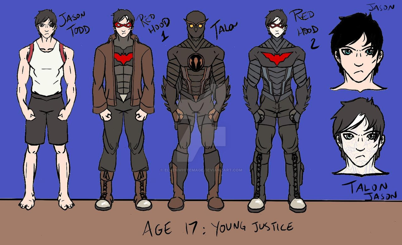 Young Justice Jason To...
