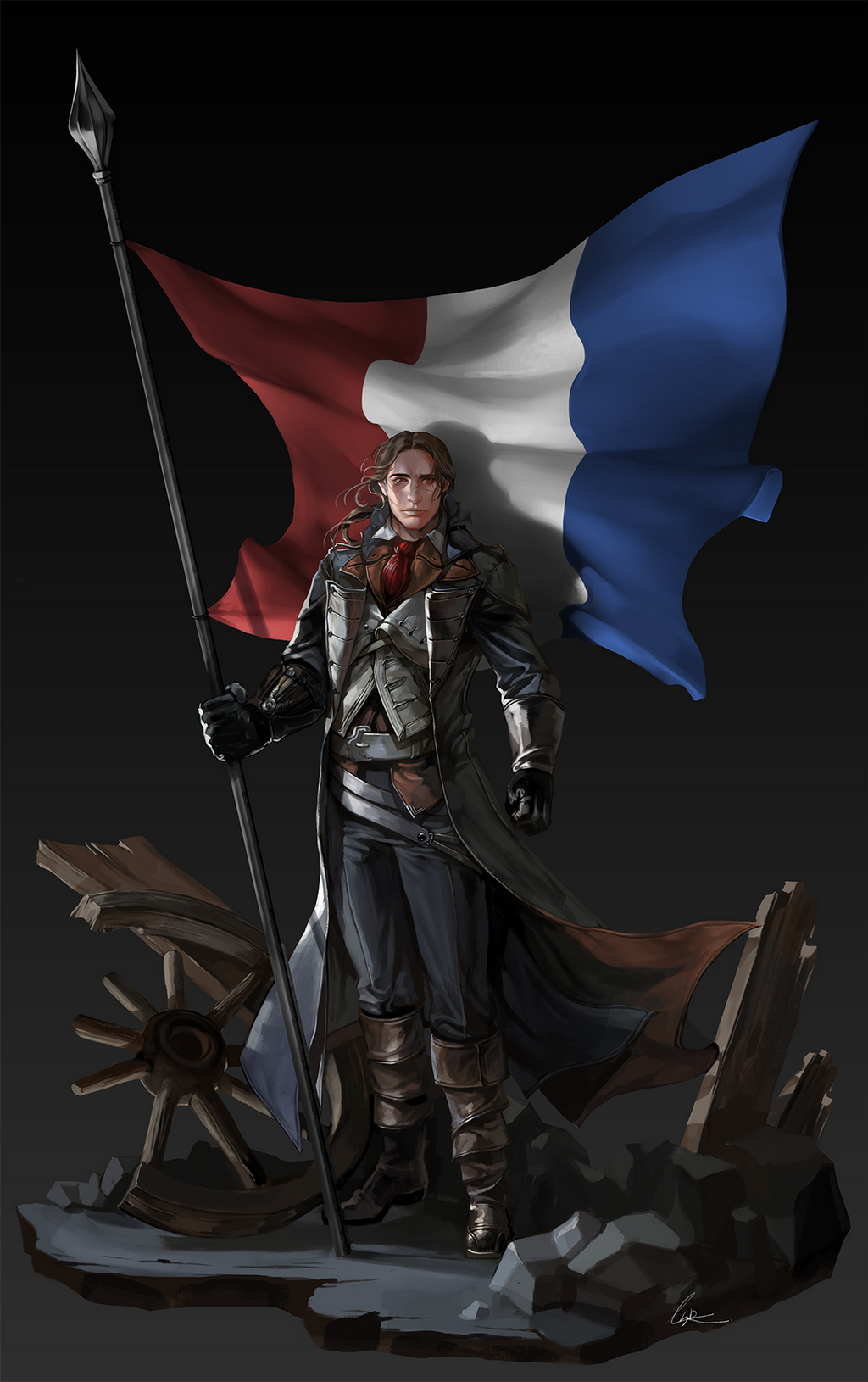 Assassin Creed Unity Fan Art By Leesoraxxx On Deviantart