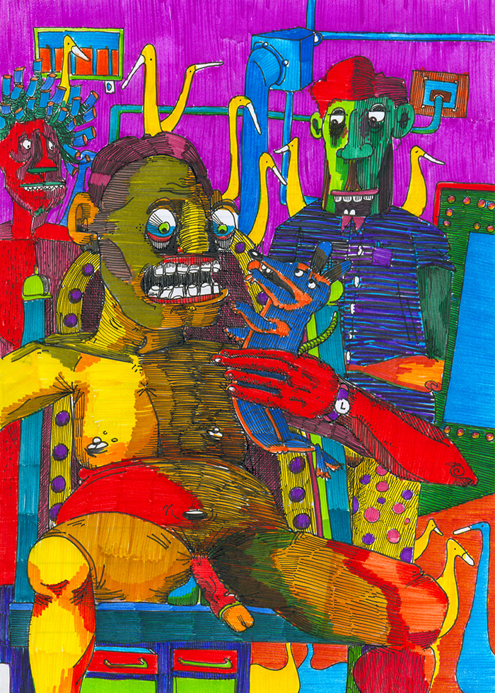paranoid psychotic by adedos