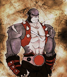 Panthro -  Colored Sketch by Omniron