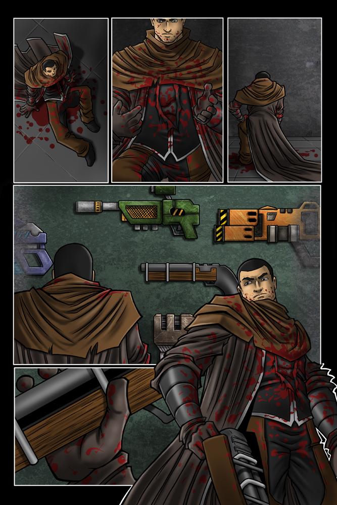 Max Hunter #2 Page 21 by P-R-Dedelis