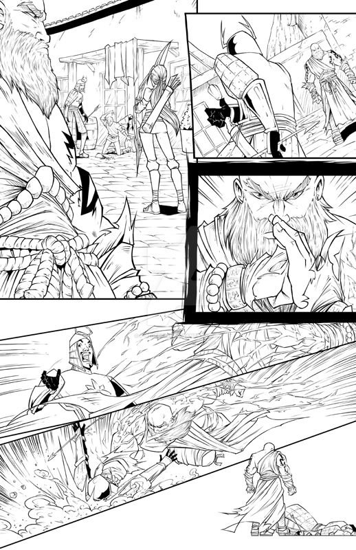 Experienced Comicbook Artist available for work