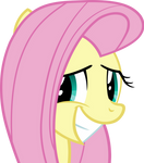 Fluttershy - Extremely Nervous Grin