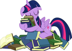 Twi Loves Her Books
