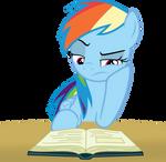 Rainbow Dash Studying