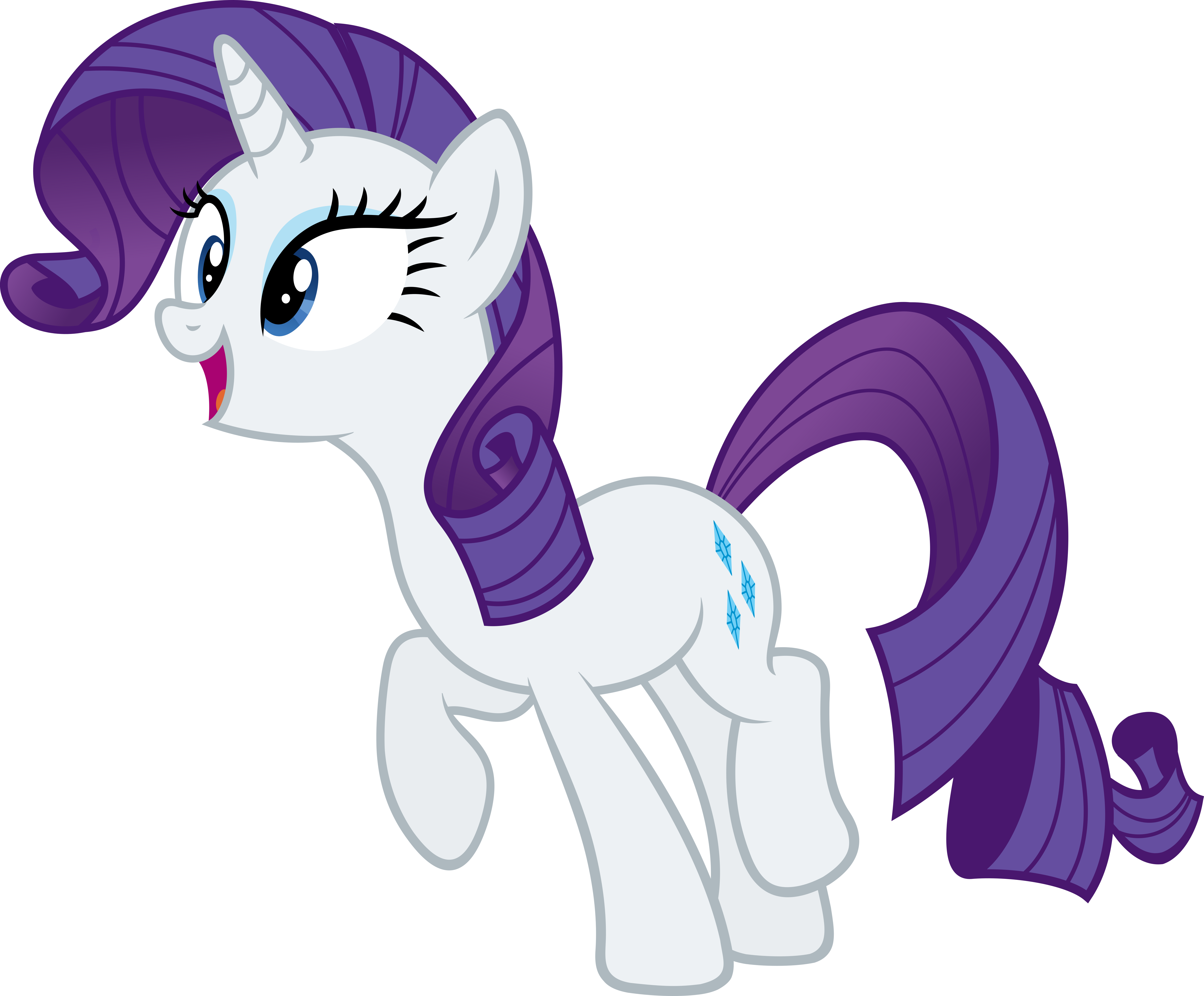 fashion horse is excited by slb94 on deviantart