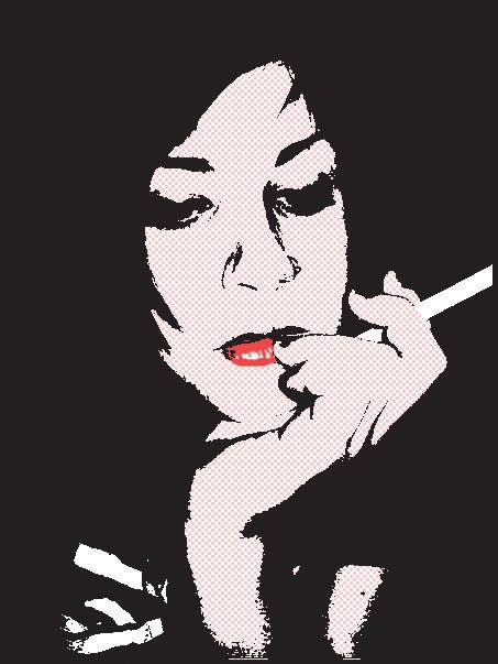 Michaela as Pop art by zinsin
