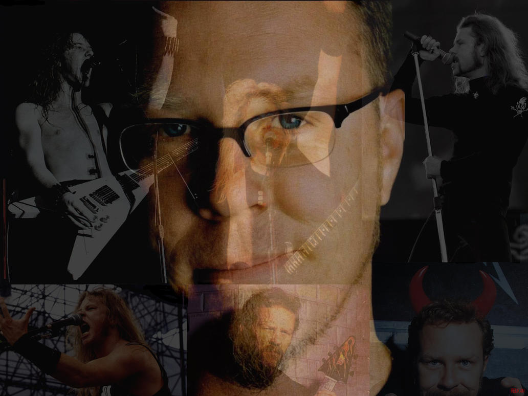 James Alan Hetfield by