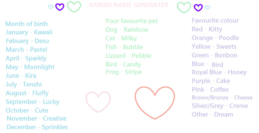 43+ What are some cute kawaii names ideas in 2021