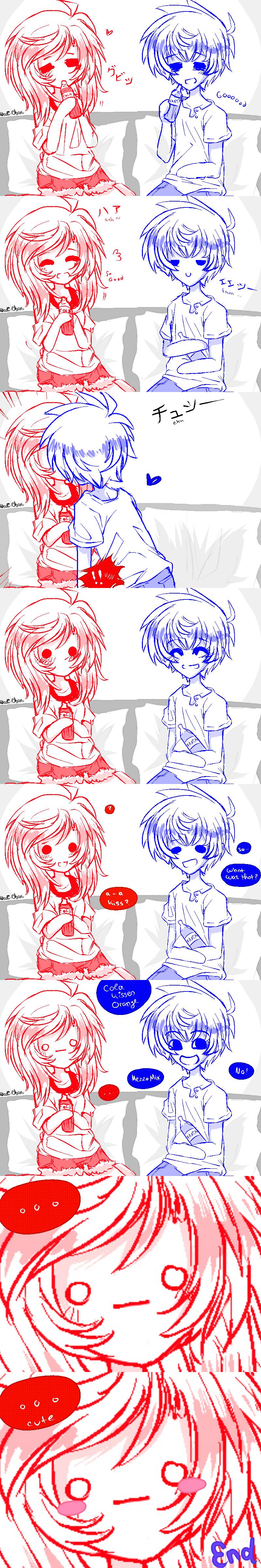 [Comic] Mezzo Mix! by Nadi-Chan