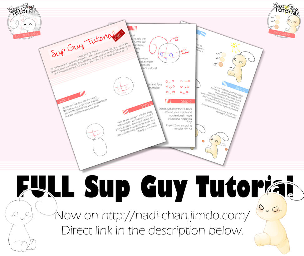 Sup Guy Tutorial by Nadi-Chan