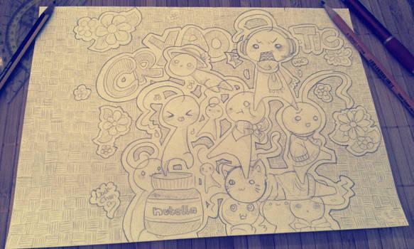 Sup Guy Doodles