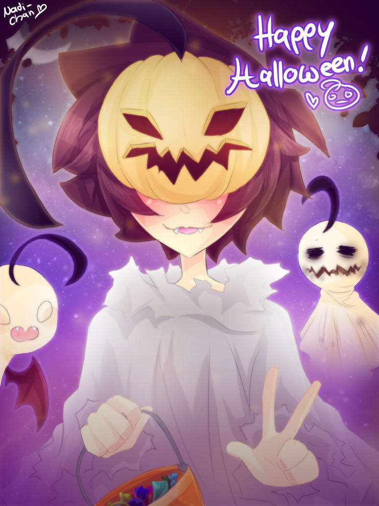 Happy Halloween! by Nadi-Chan