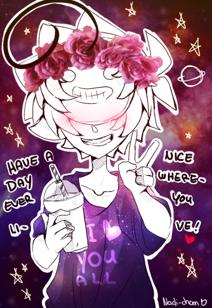 [Doodle] Have a nice day! by Nadi-Chan