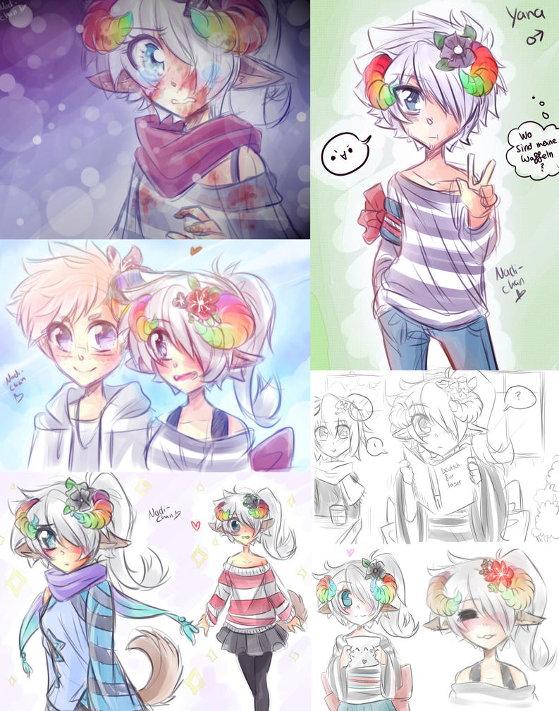 Little Doodle Collection of Yana by Nadi-Chan