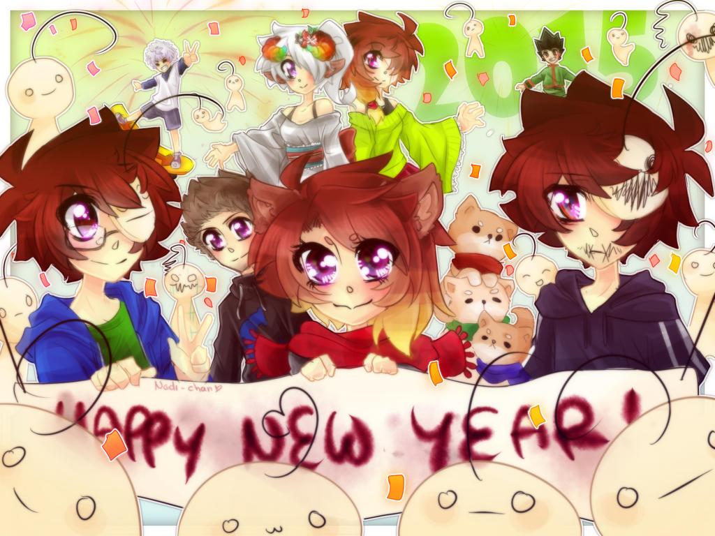 Happy New Year! by Nadi-Chan