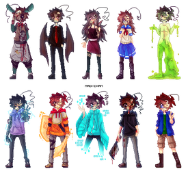 Crycest, Everlasting - Pixel Collection! by Nadi-Chan