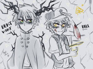 [Doodle] Beast!Wirt and Bipper