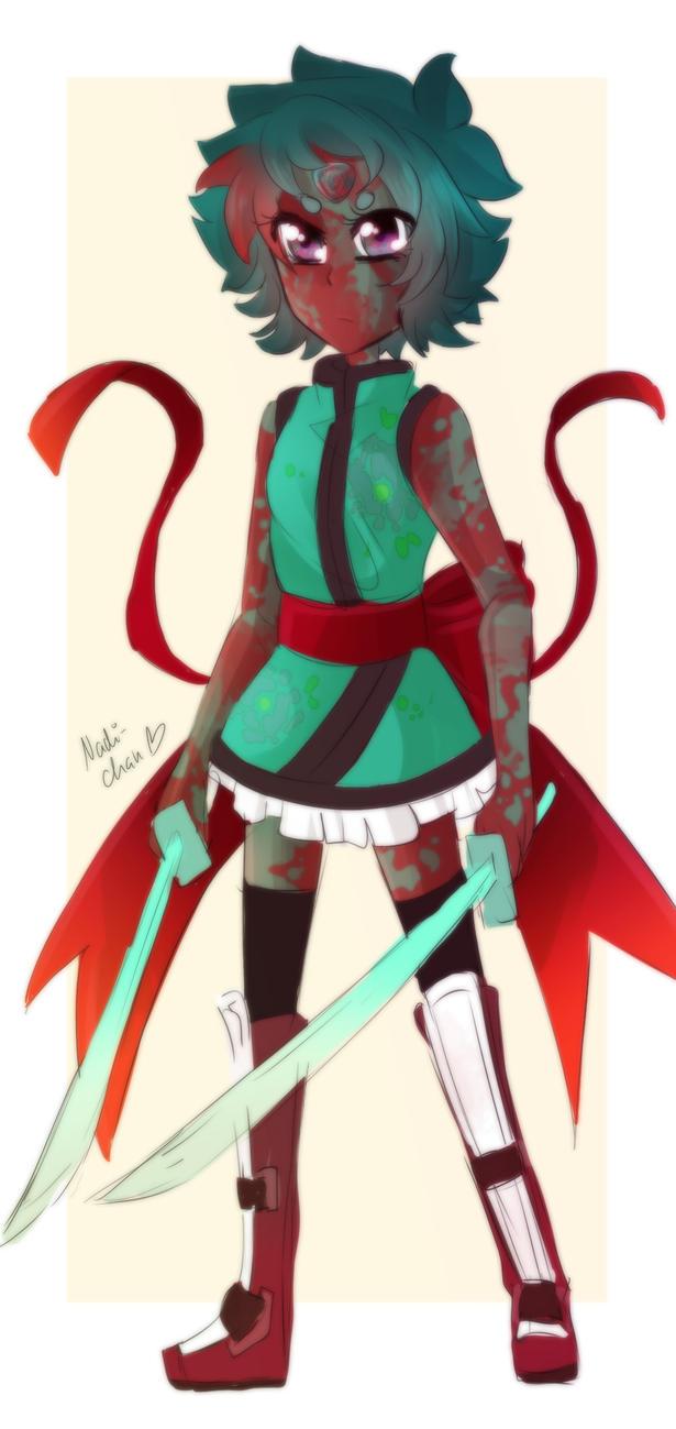 Bloodstone [My Steven Universe OC] by Nadi-Chan