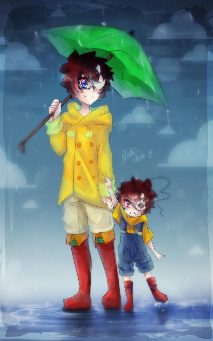 Cry  Baby!Mad!Cry -  When The Rain Begins To Fall by Nadi-Chan