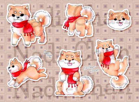 [Sticker] Shiba-Chan