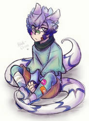 Aric Doodle by Nadi-Chan