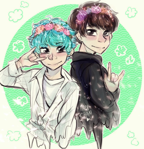 bts   v and jk by nadi chan dd5cc20