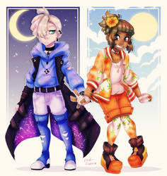 Hau and Gladion DTIYS