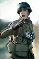 Soldier by BringerArts