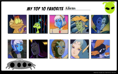 My Top 10 Favorite Aliens by Dawalk86