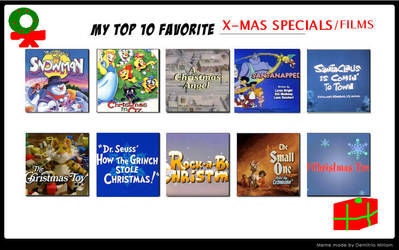 My Top 10 Favorite Christmas Specials/Films by Dawalk86