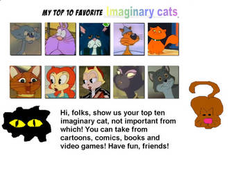 My Top 10 Favorite Imaginary Cats by Dawalk86