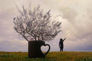 Outside the Mug by ahermin