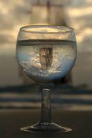 A Half Empty Glass by ahermin