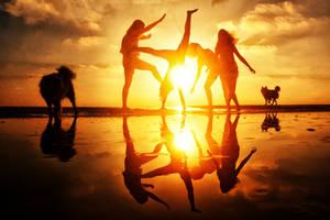 Sun Dancers by ahermin