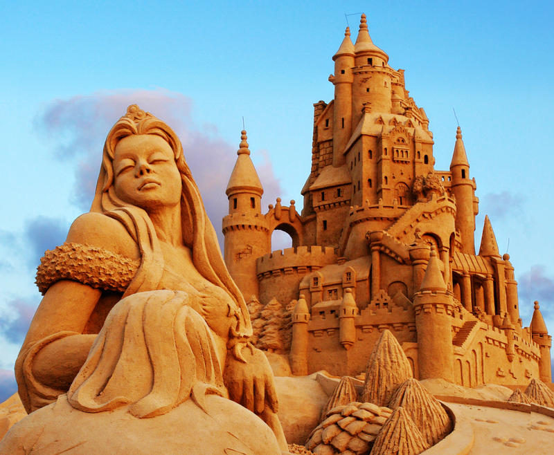 Sand Story by ahermin