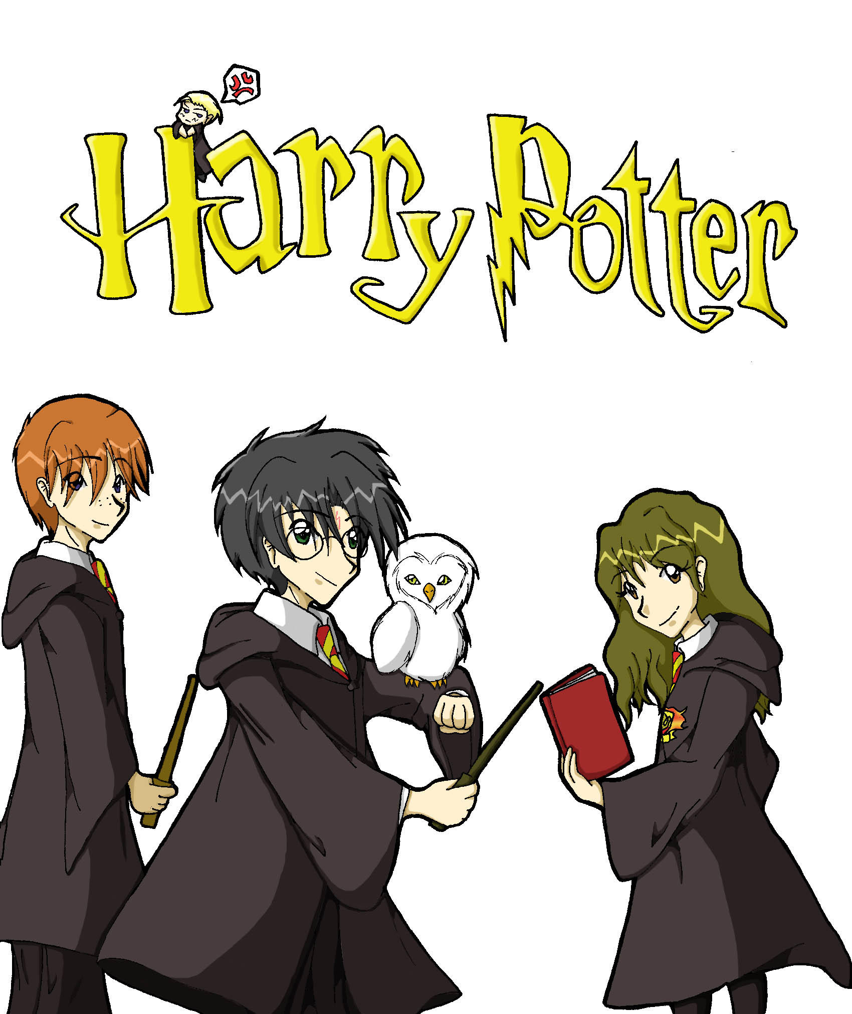 Harry Potter by XaioLoon