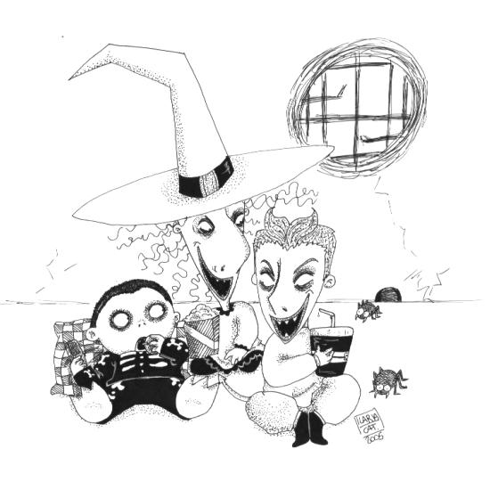 Lock shock and barrel by trickortreaters on deviantart for Lock shock and barrel coloring pages