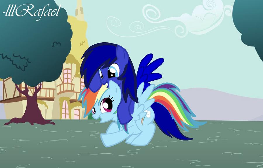 RainbowStar Got You Dashie by lllRafaelyay