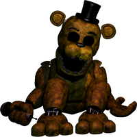 ..:Un Withered Golden Freddy:.. by lllRafaelyay