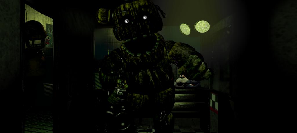 ..:Phantom Freddy in FR Office:.. by lllRafaelyay