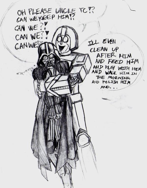 Glory meets Lord Vader by StarWarsGURU