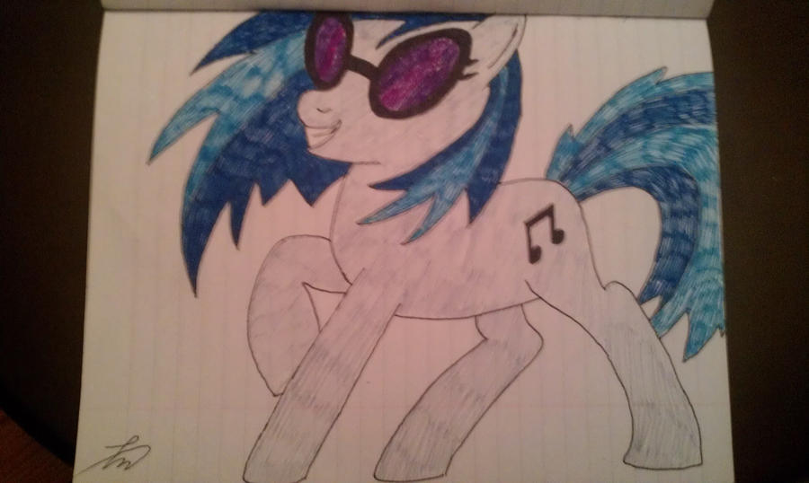 Vinyl Scratch/DJ Pon-3 by MaybyAGhost