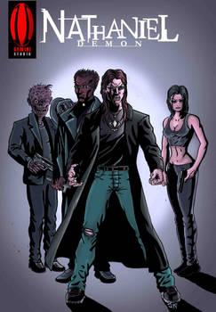 Nathaniel Demon Back cover Matrix