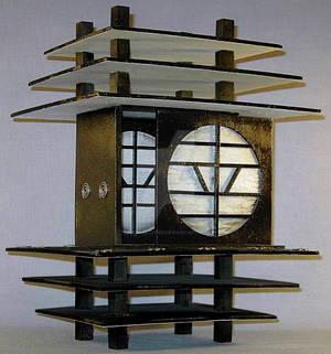 Black + White Temple Box